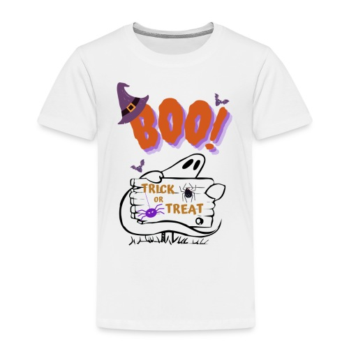Halloween ghost shirt - Camiseta premium niño