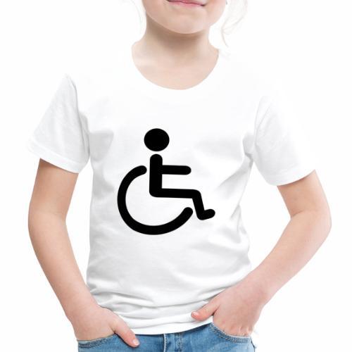 Pyörätuolipotilas - tuoteperhe - Lasten premium t-paita