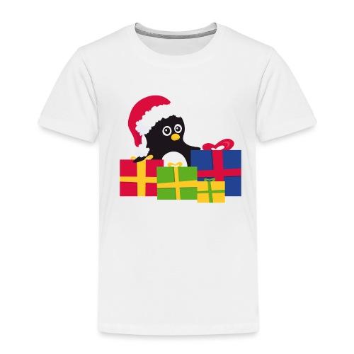 Pingouin de Noël - T-shirt Premium Enfant