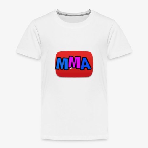 MMA Logo - Premium T-skjorte for barn