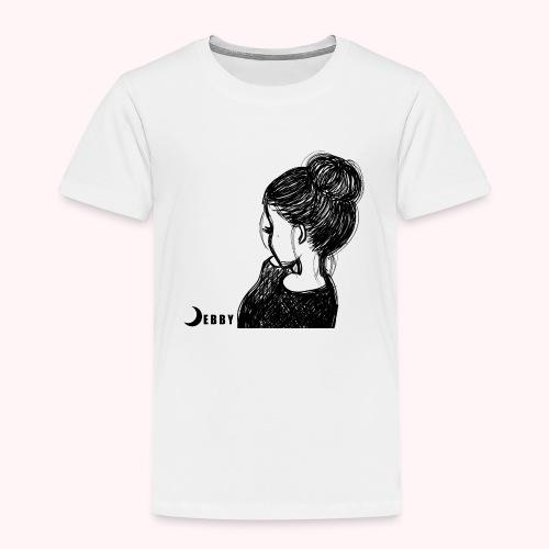 FALL BUN HAIR - 🍂COLLEZIONE AUTUNNALE by DEBBY🍁 - Maglietta Premium per bambini