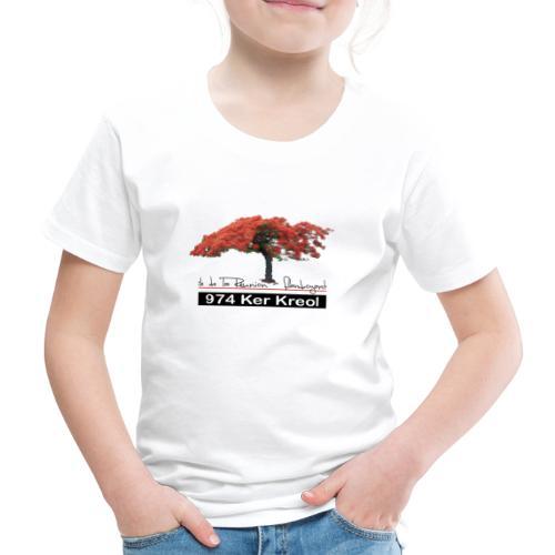 Flamboyant 974 Ker Kreol - T-shirt Premium Enfant