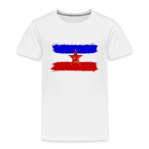 Jugoslawien Flagge - Kinder Premium T-Shirt
