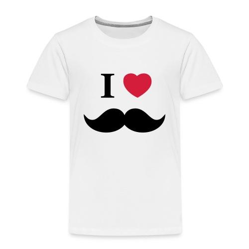 I Love beards - Kinder Premium T-Shirt