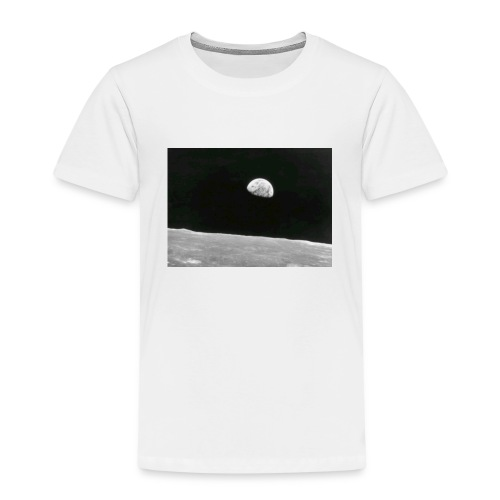 Earth from the moon - Kids' Premium T-Shirt