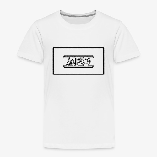 AFO 18 Transparent schwarz - Kinder Premium T-Shirt
