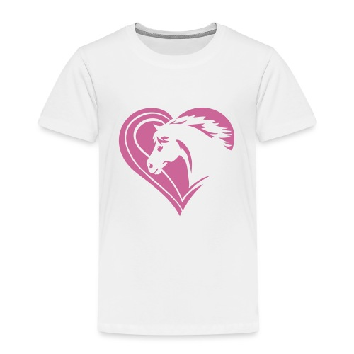 Iheart horses - Kinder Premium T-Shirt
