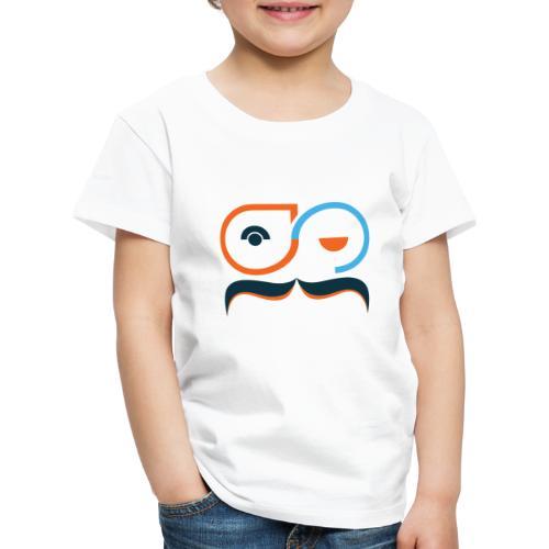 Nerdpappan Logo 2019- - Premium-T-shirt barn