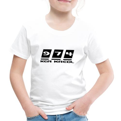 Ecriture 974 Ker Kreol - T-shirt Premium Enfant