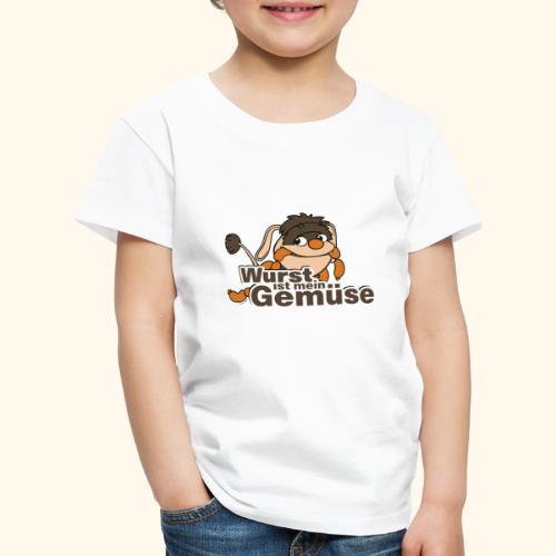 Moppi Wurst ist mein Gemüse - Kinder Premium T-Shirt