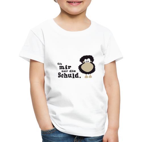 Gib mir nur die Schuld - Kinder Premium T-Shirt