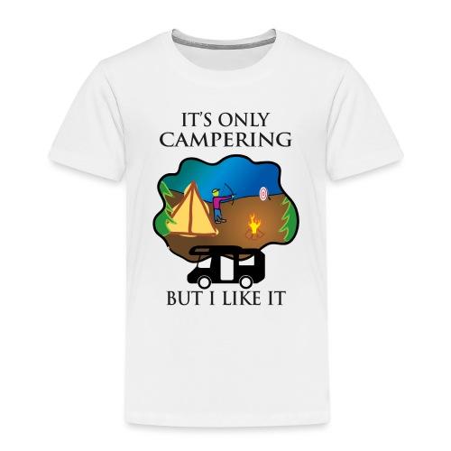 To tylko campering, ale to lubię - Koszulka dziecięca Premium