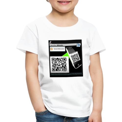 Bitcoin - Koszulka dziecięca Premium