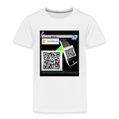 Bitcoin - Børne premium T-shirt