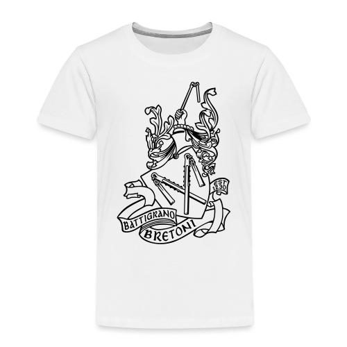 BATTIGRANO - Maglietta Premium per bambini