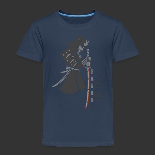 Samurai Digital Print - Kids' Premium T-Shirt