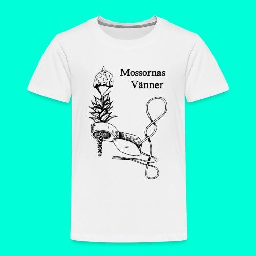 mossvanner - Premium-T-shirt barn