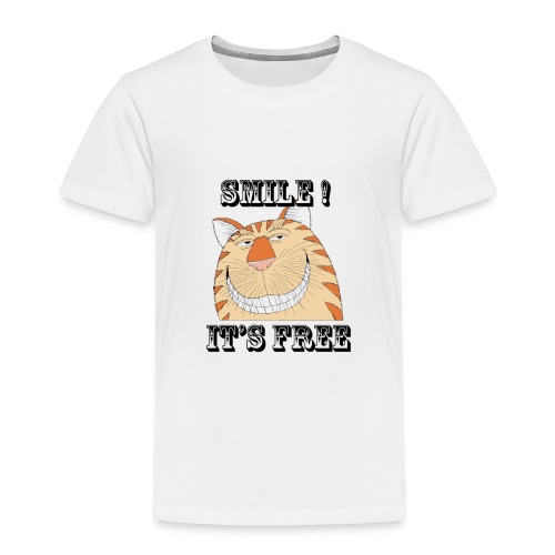 Smile 2 - Kids' Premium T-Shirt