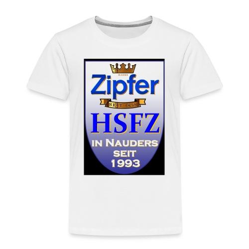 hsfz2013logofront orig - Kinder Premium T-Shirt