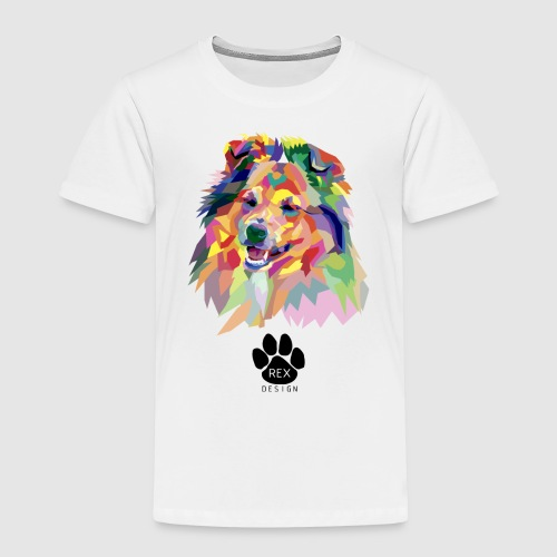 Happy Little Sheltie - Kids' Premium T-Shirt