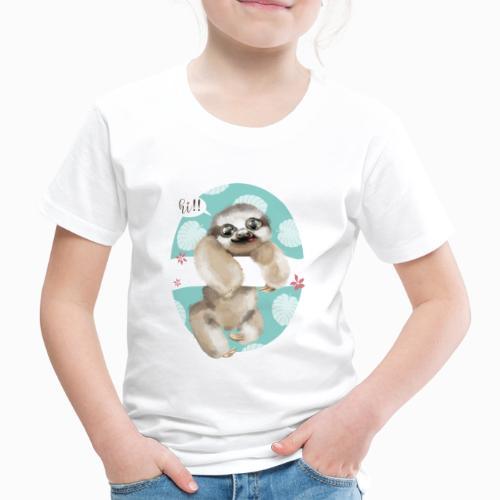 Perezoso - Camiseta premium niño