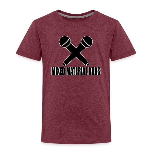 MIXED MATERIAL BARS - Kinder Premium T-Shirt