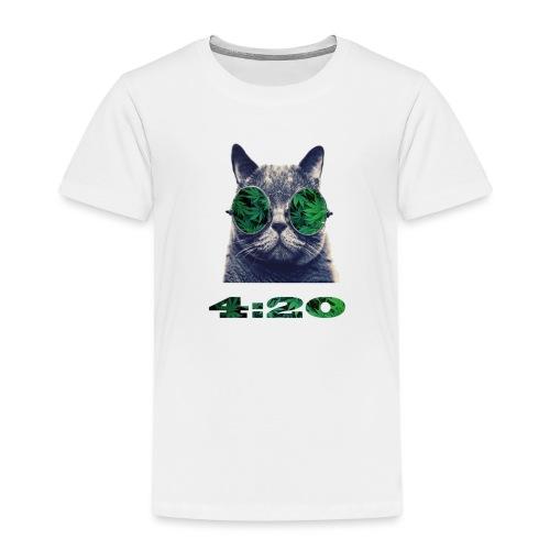 Kiff-Kat - Kinder Premium T-Shirt