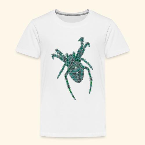 Spider Brooch Digital Art - Kids' Premium T-Shirt
