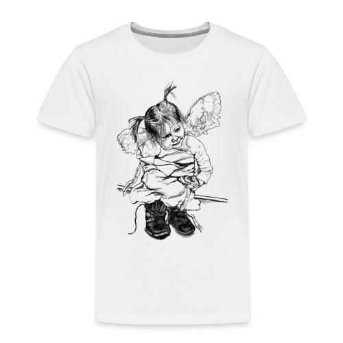 (stiefelengel112015_001) - Kinder Premium T-Shirt