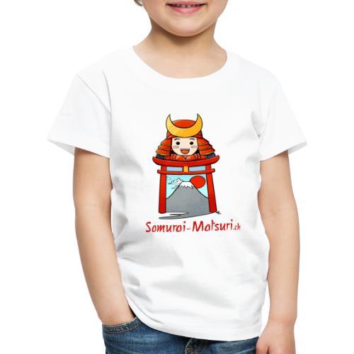 Samurai Matsuri Torii - Kinder Premium T-Shirt