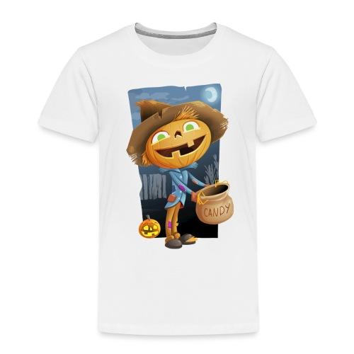 Halloween Citrouille et Friandises - T-shirt Premium Enfant