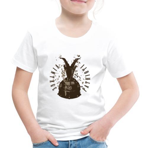 Patrioti Vintage Skenderbeg - Kinder Premium T-Shirt