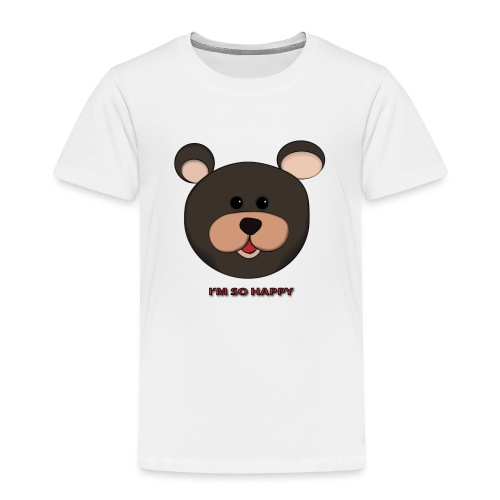 Osito feliz - Camiseta premium niño