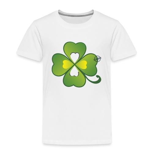 Clover - Symbols of Happiness - Kids' Premium T-Shirt