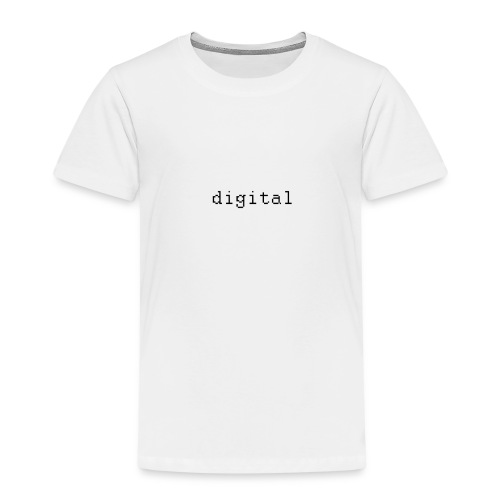 digital - T-shirt Premium Enfant