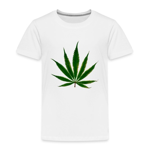 cannabis leaf - T-shirt Premium Enfant