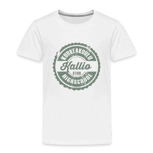22V-KALLION KORKEAKOULU - Tekstiilit ja lahjat - Lasten premium t-paita