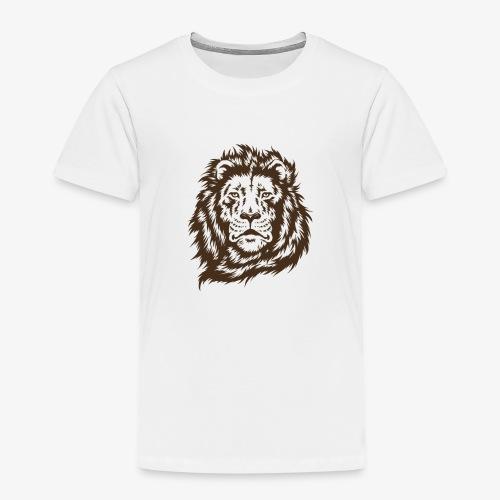 faccia leone - Maglietta Premium per bambini