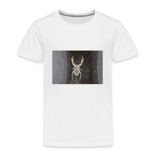 attacking spider - Kinder Premium T-Shirt