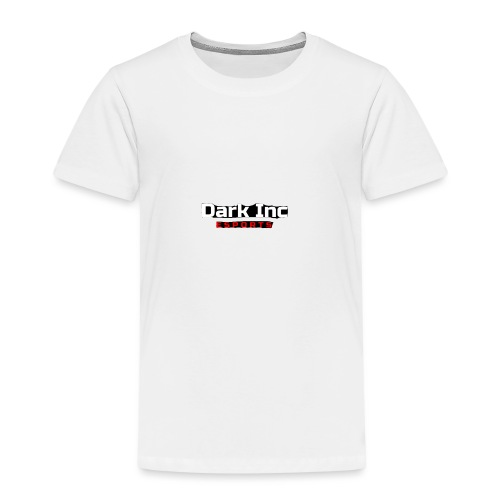 Dark Inc Text - Børne premium T-shirt