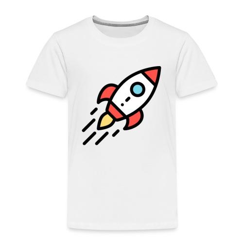 T-Shirt selber gestalten Ideen Rakete - Kinder Premium T-Shirt