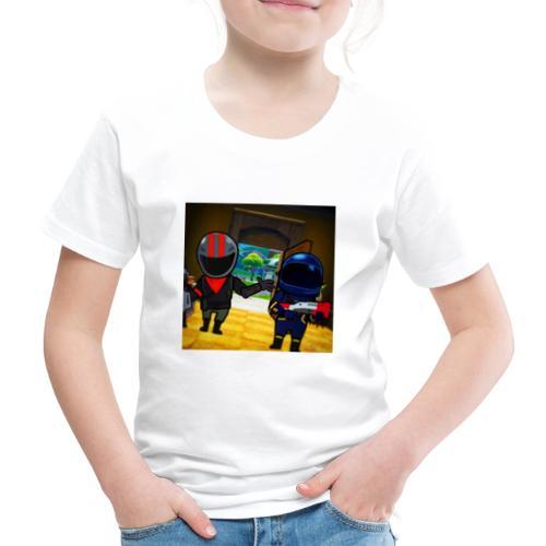 gg - Premium-T-shirt barn
