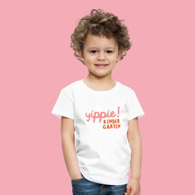 Yippie – Kindergarten!