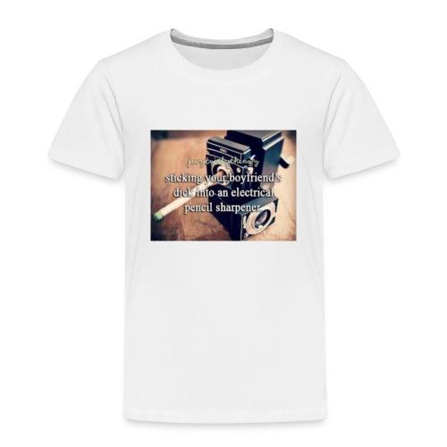 45492e8dfe105cfa0a4a7d1596676fb3 justgirlythings - Børne premium T-shirt