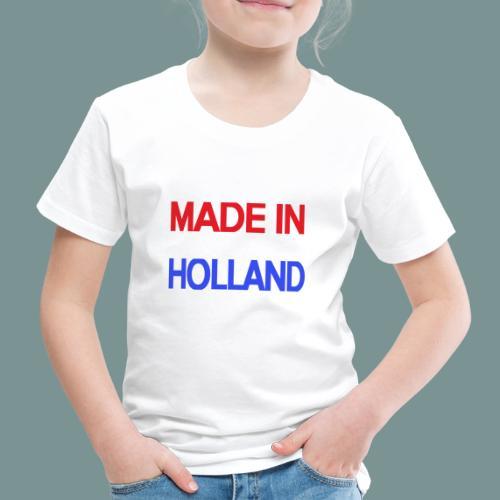 Made in Holland - Kinderen Premium T-shirt