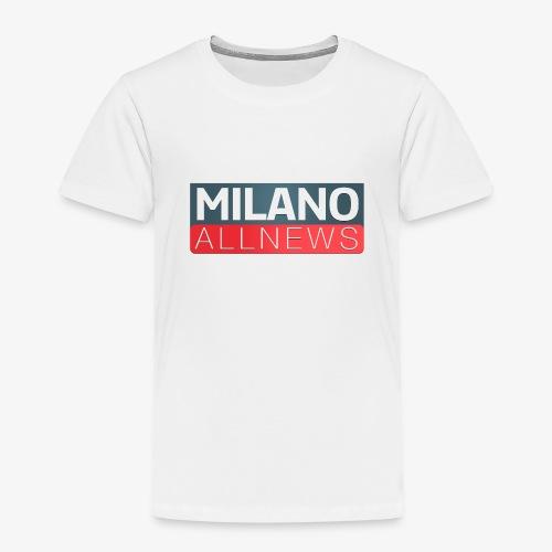 Milano AllNews Logo - Maglietta Premium per bambini
