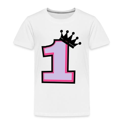 1 korona - Koszulka dziecięca Premium