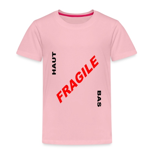 FRAGILE - T-shirt Premium Enfant