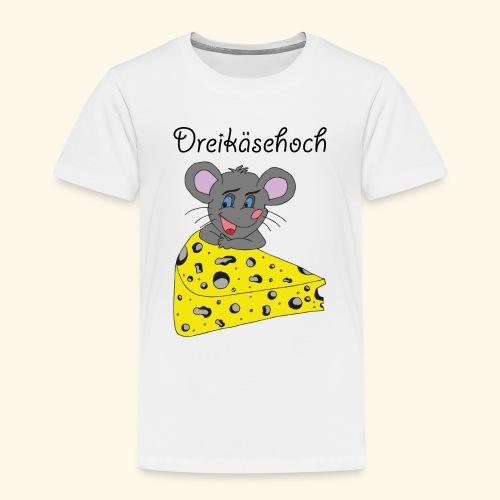 Dreikäsehoch - schwarze Schrift - Kinder Premium T-Shirt