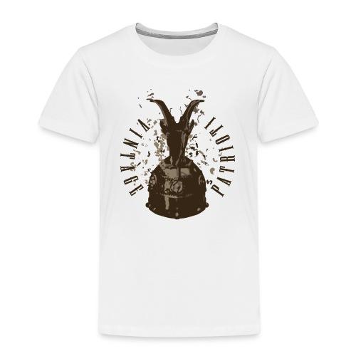Patrioti Vintage Skenderbeg - Premium-T-shirt barn